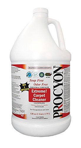 Procyon Extreme Carpet Cleaner - 4 Gallon Case (Cleaner Case Gallon 4)