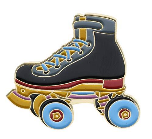 Sujak Military Items Vintage Roller Skate (Black) Hat Lapel Pin AVAP0262