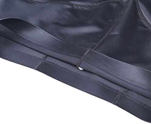 JPGO Women's Shapewear Tummy Control Body Shaper Shorts High-Waist Thigh Slimmer