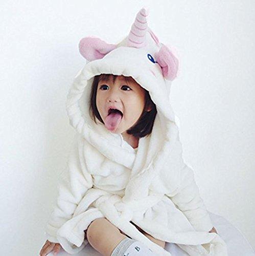 58119edc2b Unicorn Hooded Baby Towel   Bathrobe