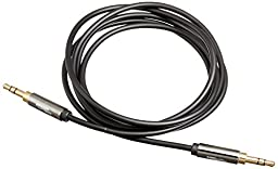 AmazonBasics 3.5mm Male to Male Stereo Audio Cable - 4 Feet (1.2 Meters)