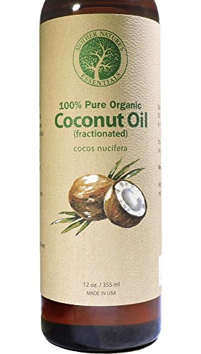 Organic-Fractionated-Coconut-Oil-For-Skin-100-Pure-Natural-Highest-Quality-Wildcrafted-Organic-Made-in-the-USA-The-Best-Carrier-Oil-Massage-Oil-Moisturizer