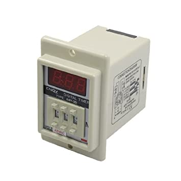 DealMux Panel Mount 1-999 Minute White Digital Timer Time Delay Relay AC  48V ASY-3D : Amazon.in: Home Improvement
