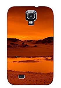 New Snap-on Markrebhood Skin Case Cover Compatible With Galaxy S4- Firey Sunrise