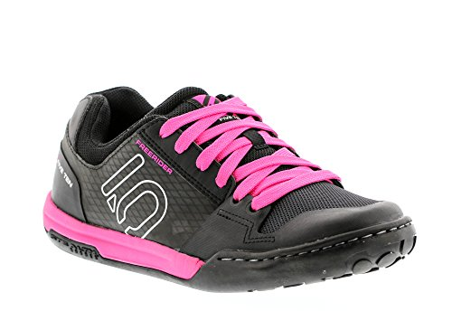 Five Ten Freerider Contact Women's Flat Pedal Shoe: Split Pink 9