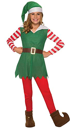 Forum Novelties Costume Santa's Helper-Girl Large, Multi Color, One Size