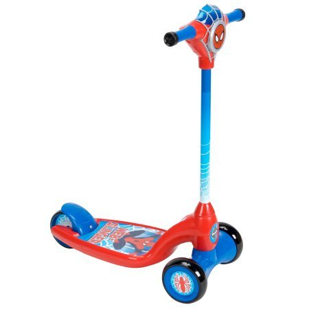 by Huffy Marvel Ultimate Spider-Man Boys' 3-Wheel Scooter