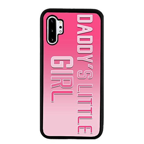BRGiftShop Daddys Little Girl Rubber Phone Case for Samsung Galaxy Note 10 Plus