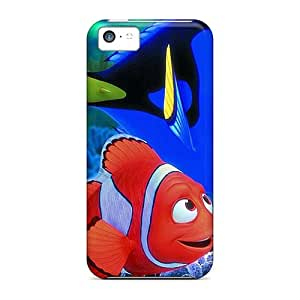 Shock Absorption Cell-phone Hard Covers For Iphone 5c (woG8013vNEN) Allow Personal Design Realistic Finding Nemo Pattern