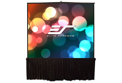 Elite Screens Tripod B Series, 50-inch, Multi Aspect Ratio Lightweight Portable Pull Up Projector Projection Screen, T50SB