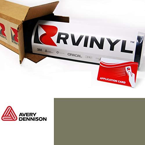Avery SW900 711-O Matte Khaki Green Supreme Wrapping Film Vinyl Vehicle Car Wrap Sheet Roll - (12