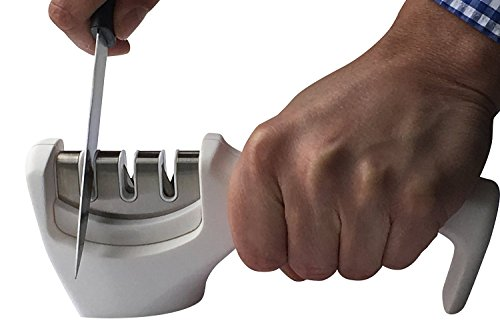 Knife-Sharpener-for-Kitchen-Outdoor-by-Coninx-Premium-3-Stage-Professional-Manual-Sharpening-System-for-Knives-Sharpens-Both-Steel-Ceramic-Knives-Ergonomic-Design-with-a-Stylish-White