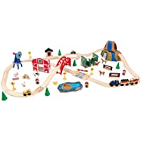 KidKraft Farm Train Set with 75 Accessories