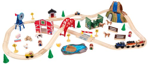 KidKraft Farm Train Set ()