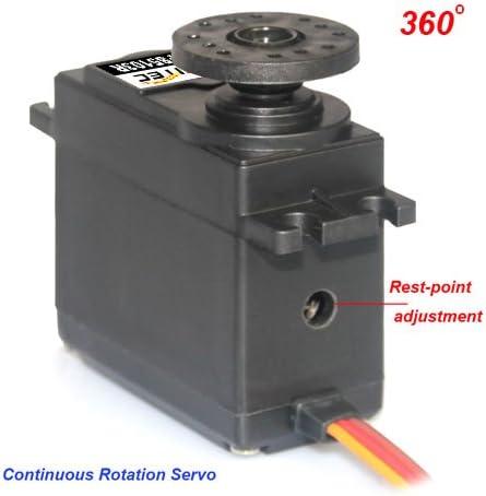 Feetech FS5103R 360 grados de rotación continua Estándar Servo Analógico 3kg.cm