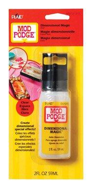 Mod Podge Dimensional Magic (Mod Podge Plaid Bulk Buy Dimensional Magic 2 Ounces)