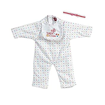 69a7776fb9f4 Adora Dolls Playtime Baby Doll Little Cutie Sleeper Outfit