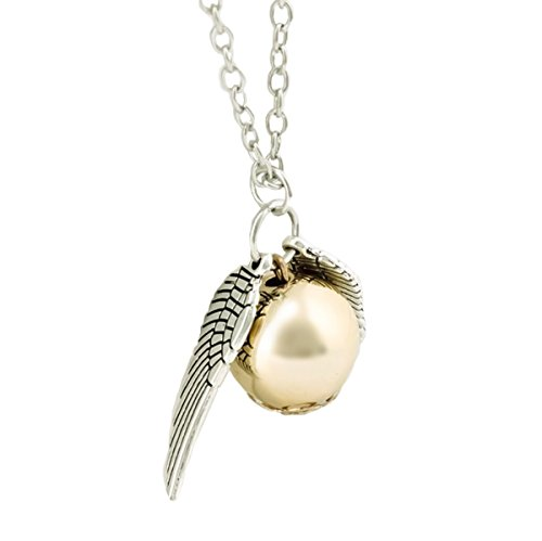 Harry Potter Snitch Costume (Flying Golden Snitch Replica Necklace (Silver))