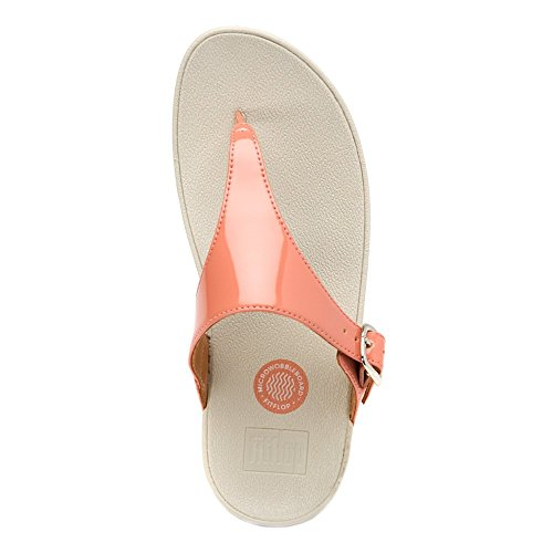 Fitflop the Skinny, Chanclas para Mujer Peach