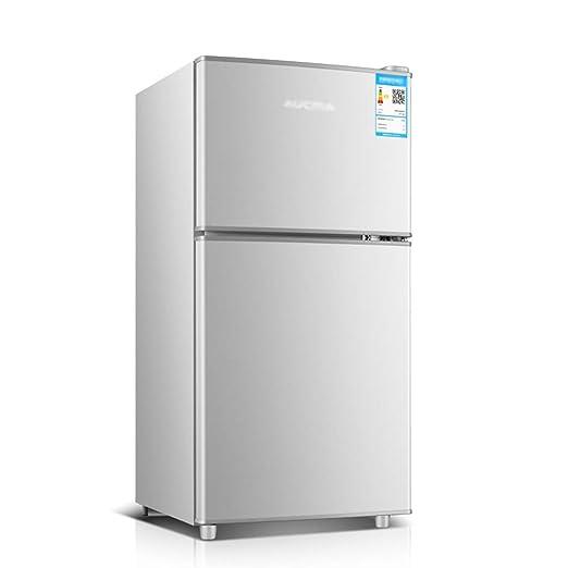 refrigerador de Doble Puerta, congelador, 58L, hogar pequeño y ...