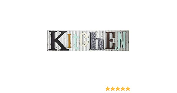 Rustic Galvanized Metal Colorful Laundry Room Plaque Farmhouse Country Decor
