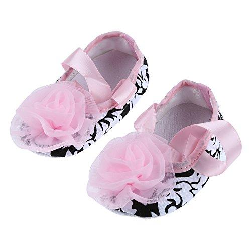 TOOGOO(R) Kleinkind Saeugling Baby Maedchen Schuhe Soles fuer 0-6 Monate