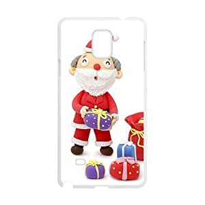 Cartoon Cute Snowman Phone For HTC One M7 Case Cover