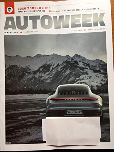 Autoweek Magazine March 11, 2019 | 2020 Porsche - Autoweek Magazine