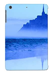 New Snap-on Resignmjwj Skin Case Cover Compatible With Ipad Mini/mini 2- Montt. Michel At Dawn Normandy France