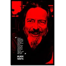 "Alan Watts Art Print 5 ""NO LESS THAN GOD"" Photo Poster 12x8 Inch Unique Gift"