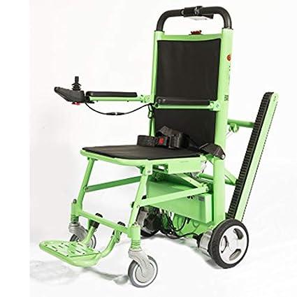 Silla de ruedas eléctrica plegable de la prima, silla de la escalera de la evacuación