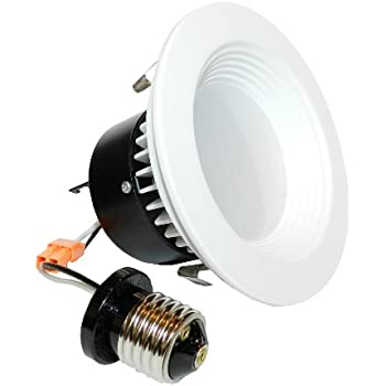 "4"" LED Recessed Retrofit Kit Reflector 4000K"