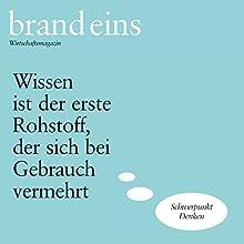 Das Gehirn denkt nicht (brand eins: Denken) Hörbuch von Peter Laudenbach Gesprochen von: Anna Doubek, Michael Bideller