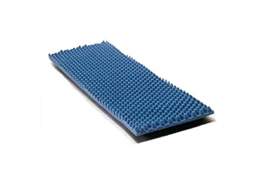 Eggcrate Mattress Foam Pad - McKesson Pad Bedsize Eggcrate Overlay 33