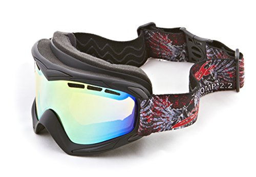 Deep Set Helmet Black Floating Water Jet Ski Goggles Sport Designed for Kite Boarding, Surfer, Kayak, Jetskiing, other water sports. by Jettribe