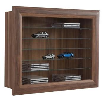 sb design 109 010 wall mounted display cabinet bora 10 plum 625 x 50 cabinets bora wall mounted