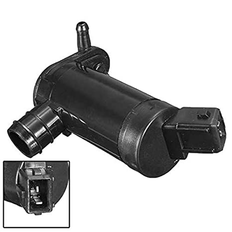 Windscreen Window Washer Twin Outlet Pump for 91-96 Ford Cougar Focus - Auto Parts