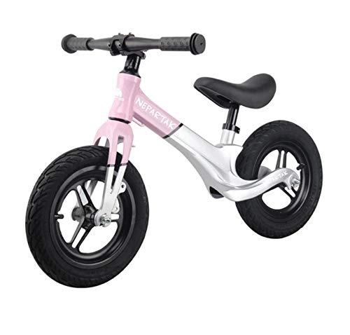 Chennong 子供用バランスカーペダルなし1-3-6歳用ヨーヨー子供用2輪ベビースケート幼児用スライド  ピンク B07QLS8259
