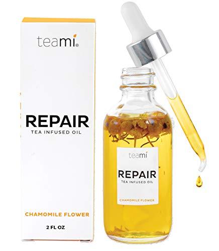 Repair Oil - Teami Repair Jojoba Face Oil - with Coconut Oil, Camellia Seed, and Vitamin E (2oz)