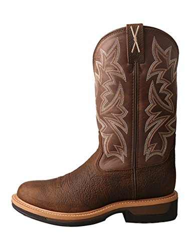 Mens Waterproof Red MLCWW03 Rubber Work Twisted X Taupe Boots Buckle FwqUFP4