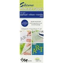 Silicone Release Paper: Non-Stick Applique Release Transfer Paper: Written by C&T Publishing, 2010 Edition, (Stk Unbnd) Publisher: C&T Publishing [Paperback]