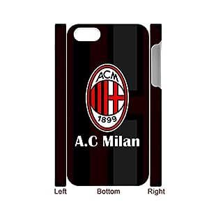 Generic Creative Phone Case For Girls Printing Ac Milan For Iphone 4 4S Full Body Choose Design 1-5