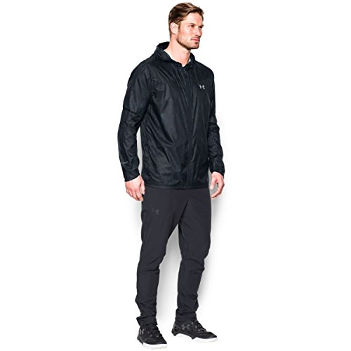 stealth overcast Windbreaker 008 Giacca Leeward Ua Armour black Uomo Under Grigio Gray Gray wqvx0c