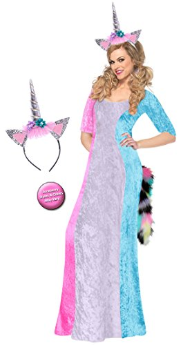 Lavender & Pastels Unicorn Plus Size Supersize Halloween Costume Basic Kit 5x - Varys Costume Pattern