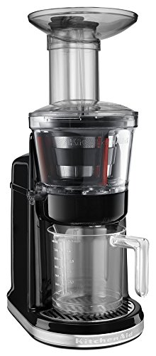 KitchenAid KVJ0111OB Maximum Extraction Juicer, Onyx Black
