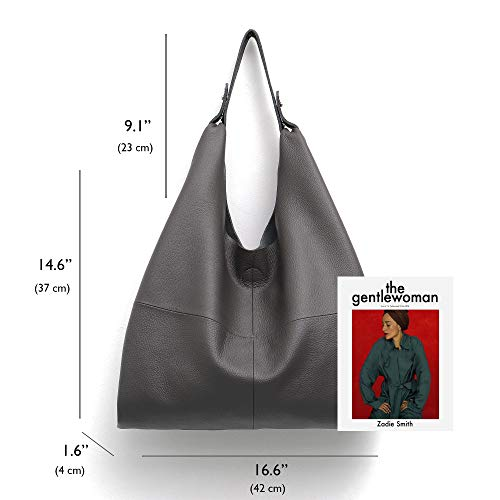 8c529ddaff31 Women's Handbag STEPHIECATH Genuine Leather Slouch Hobo Shoulder Bag ...