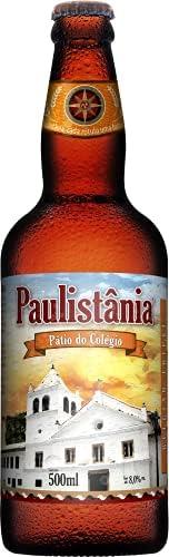 Cerveja Paulistânia Pátio do Colégio - Grf 500 ml Paulistânia 500Ml