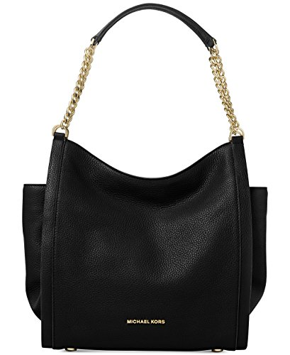 MICHAEL Michael Kors Newbury Medium Chain Tote -Black $328 ()