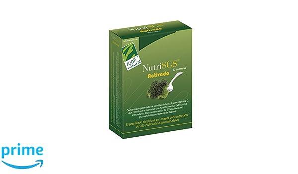 100% natural NutriSGS Vitaminas - 30 Cápsulas: Amazon.es: Salud y cuidado personal