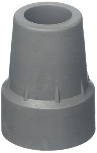 Medline Crutch Tips, Grey, Large (Extra Crutch Tips Large)